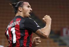 Inter de Milán vs. Milan: Zlatan Ibrahimovic firmó un doblete en tres minutos | VIDEOS