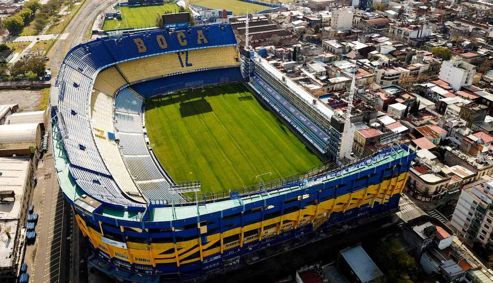 Estadio La Bombonera de Boca Juniors