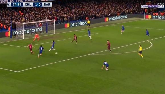 Barcelona vs. Chelsea: el golazo de Lionel Messi en Champions League [VIDEO]