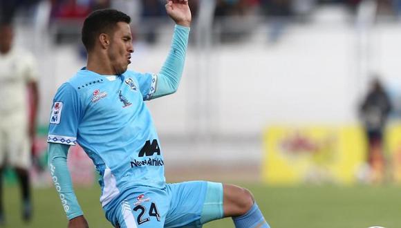 Edson Aubert anotó un gol en el primer partido la final de la Liga 1 contra Alianza Lima.