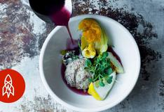 Chef ofrece platillos de nativos americanos en presentaciones gourmet