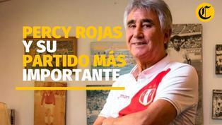 Percy Rojas y su partido más importante