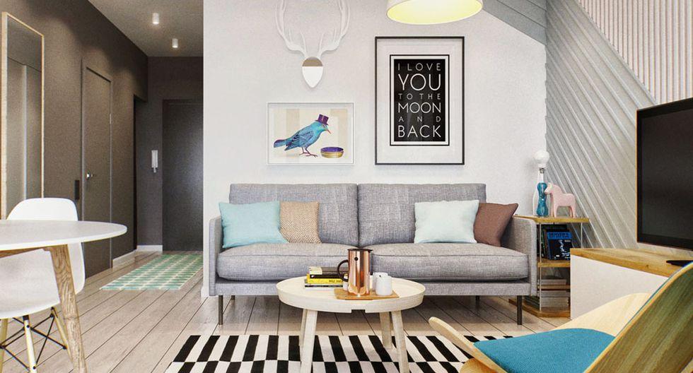 El estilo escandinavo del mobiliario, de líneas simples y tonos claros, hace que el departamento se sienta más ligero. (Foto: INT 2 Architecture)