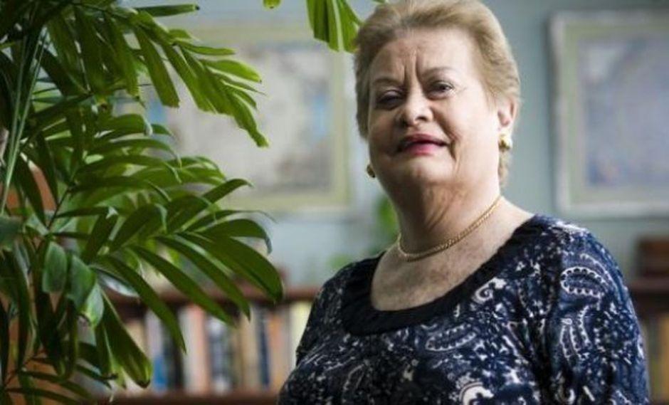 """Martha Hildebrandt: el significado de """"Peluca"""""""