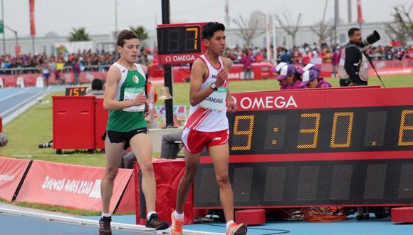 El tiempo del atleta huancaíno fue de 22 minutos, 44 segundos y 77 centésimas.