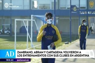 Boca Juniors: Carlos Zambrano vuelve a los entrenamientos