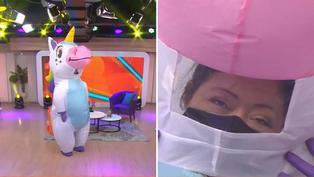 Conoce a Arlette, la mujer debajo del disfraz del unicornio