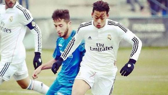Cristian Benavente llegó al Real Madrid en el 2002 para formar parte de sus canteras. (Foto: Real Madrid)