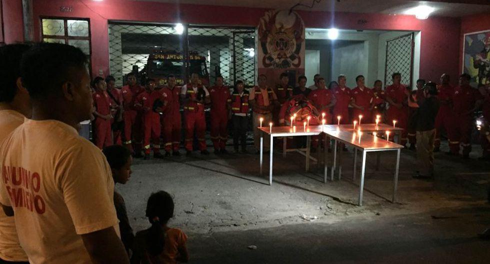 Bomberos de Tarapoto e Iquitos hicieron vigilias por fallecidos - 5