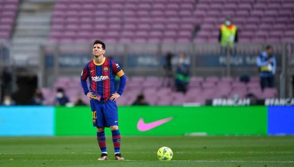 Lionel Messi recibe un permiso de Barcelona y no jugará el partido ante Eibar. (Foto: AFP)
