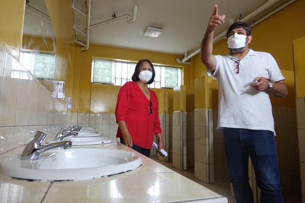 El Ministerio de Educación ha destinado cerca de S/ 38 millones para la implementación de lavamanos en los colegios públicos. (Foto: Minedu)