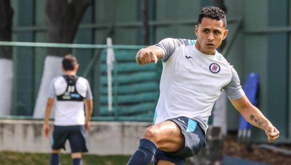 Yoshimar Yotún fue anunciado como jugador de Cruz Azul en diciembre del 2018. (Foto: Cruz Azul)
