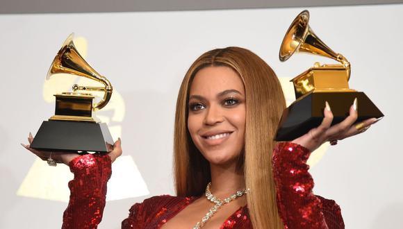 Beyoncé está a punto de romper récords en número de Grammys ganados. (Foto: AFP / Robyn Beck)