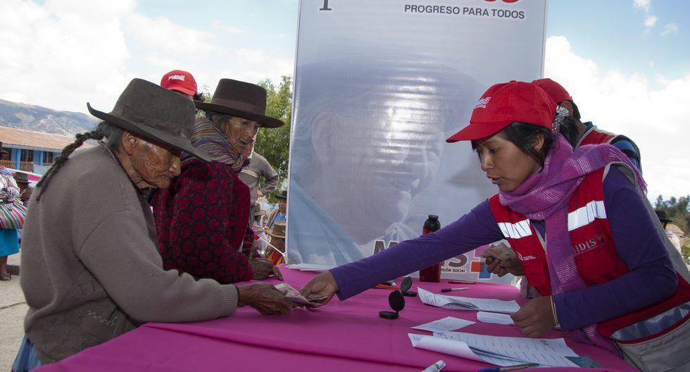 El Ministerio de Desarrollo e Inclusión Social solicitó recursos para el financiamiento de la ampliación de cobertura del programa Pensión 65. (Foto: GEC)