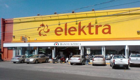 El Grupo Elektra hizo oficial el comunicado en el que anuncian el cierre de sus tiendas en Perú. (Foto: El Universal)