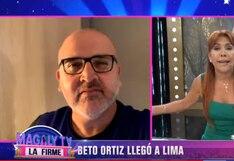 Beto Ortiz ya se encuentra en Perú y guarda cuarentena | VIDEO