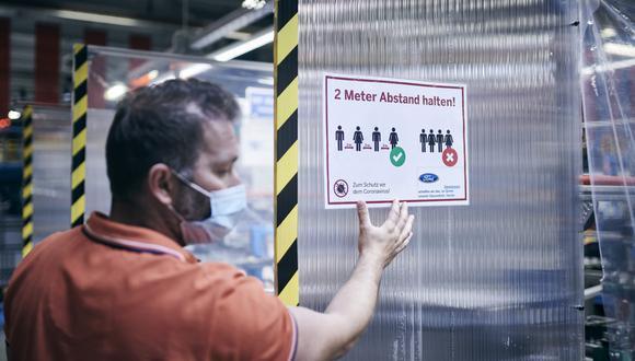 Los trabajadores de Ford contarán con kits de protección personal para cumplir sus funciones. Estos incluyen mascarillas, un termómetro reutilizable y otros artículos de higiene. (Fotos: Ford)