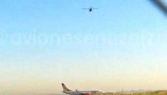 YouTube: Error de piloto pudo ocasionar choque de aviones en Argentina.