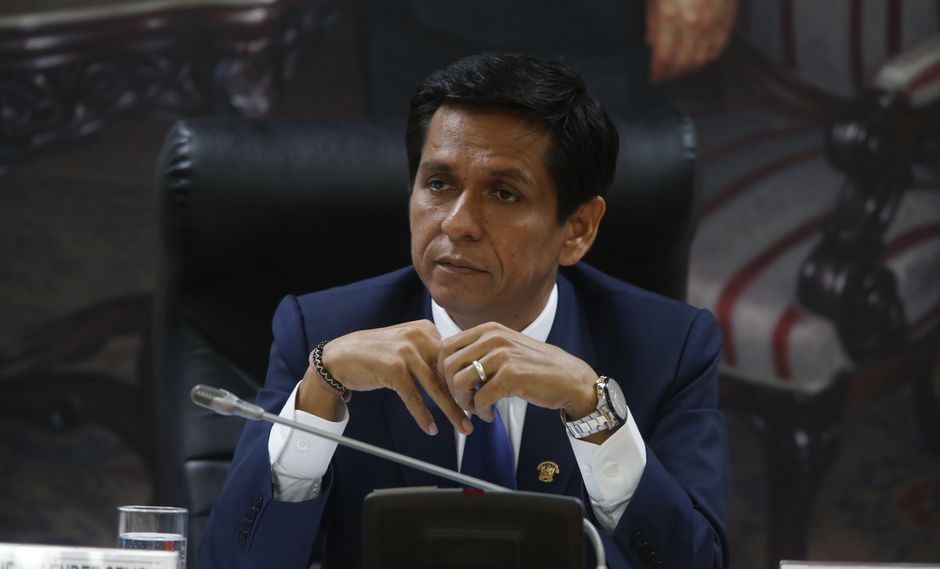 """Jorge Meléndez, congresista de Peruanos por el Kambio, espera que no se haga un """"circo"""" de la investigación. (Foto: GEC)"""