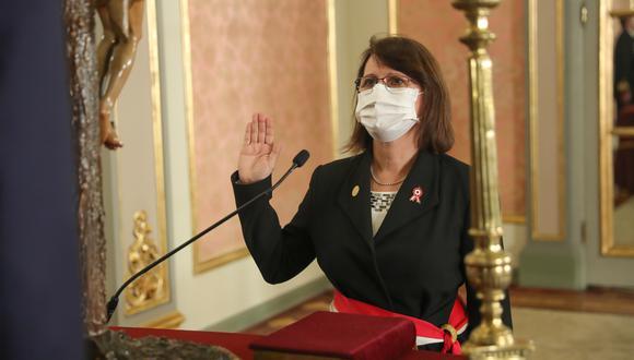 Por segunda vez, Pilar Mazzetti asumió el miércoles el cargo de ministra de Salud. Su primera gestión en esta cartera fue entre el 2004-2006, durante el gobierno del expresidente Alejandro Toledo (Foto: Presidencia)