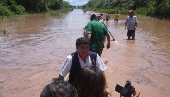 Huánuco: desborde del río Huampal dejó 560 afectados