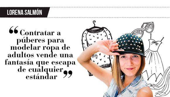 """Lorena Salmón: """"Por debajo de la línea"""""""