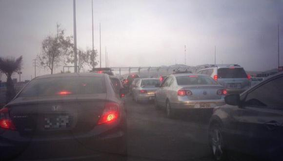 Panamericana Sur: malestar de miles de limeños por congestión vehicular