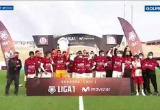 Liga 1: Así fue la premiación de Universitario tras ganar la Fase 1 del torneo | VIDEO