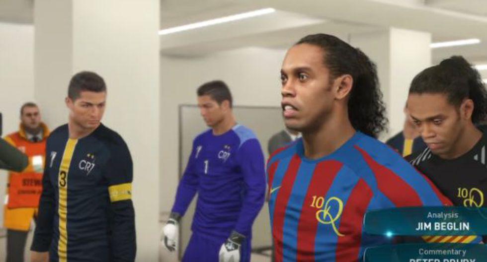 11 Ronaldinhos contra 11 Cristianos: ¿qué equipo ganaría?