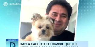 Coronavirus en Perú: hombre intervenido por pasear a su perro en Miraflores rompe su silencio