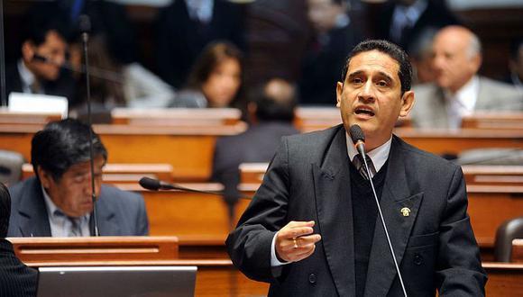 Mesías Guevara fue congresista en el periodo 2011 - 2016. Ahora es gobernador regional de Cajamarca y presidente de la Asamblea Nacional de Gobiernos Regionales. (Foto: Congreso de la República)