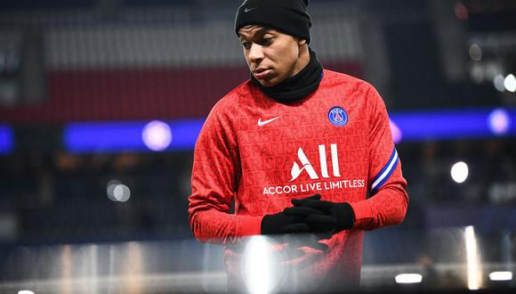 Mbappé se manifestó a favor de Webó, quien sufrió de un acto racista en el partido entre PSG y Istanbul en la Champions League. (Foto: AFP)