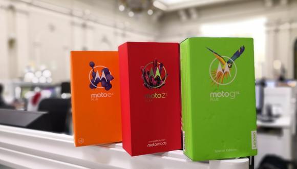 Analizamos los tres más recientes smartphones que Motorola ha lanzado en el mercado nacional. (Foto: Bruno Ortiz)