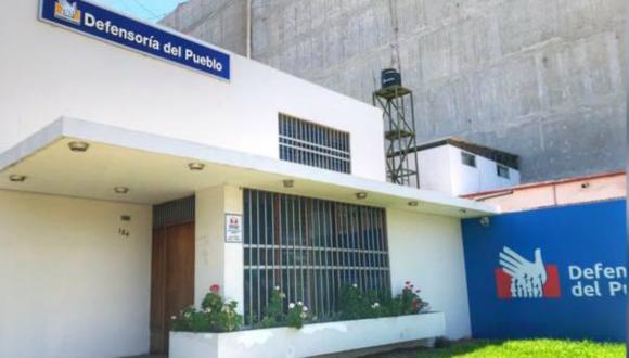 """""""En lo que va del año, se han cometido 40 crímenes en la región"""", precisó la Defensoría del Pueblo en La Libertad. (Foto: Defensoría del Pueblo)"""