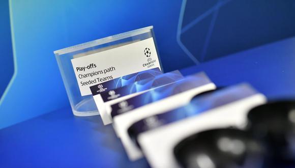 El lunes 02 de agosto se realizó el sorteo de los Play-off de la Champions League. (Foto: UEFA)