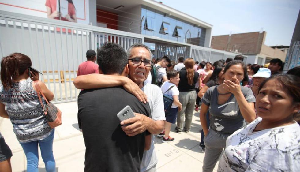 Gran consternación ha causado lo ocurrido en el colegio Trilce. (Foto: Giancarlo Ávila)