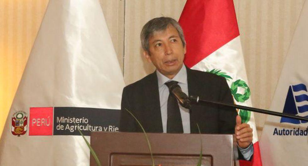 El presidente Martín Vizcarra señaló que José Arista, ex ministro de Agricultura en el gobierno de Pedro Pablo Kuczynski, es una de las tres opciones que maneja para suceder a David Tuesta en el MEF. (Foto: Minagri)