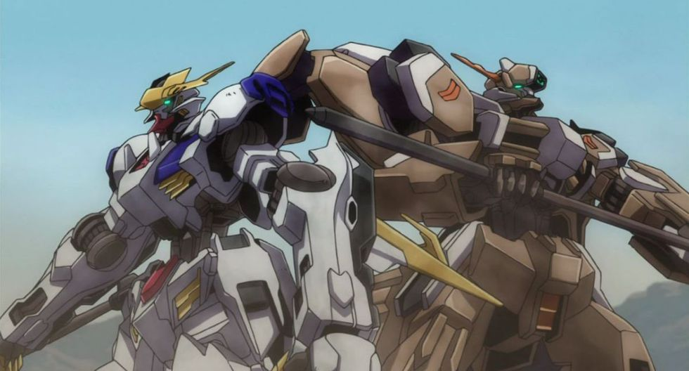 """""""Mobile Suit Gundam: Iron-Blooded Orphans""""  - 1 de noviembre. (Foto: Netflix)"""
