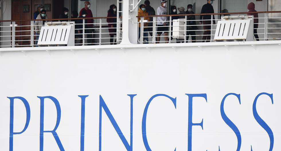 Otros 79 casos de coronavirus han sido descubiertos a bordo del crucero Diamond Princess en Japón, dijo el ministerio de Salud el miércoles, con lo que el total de contagiados asciende a 621. (AFP).
