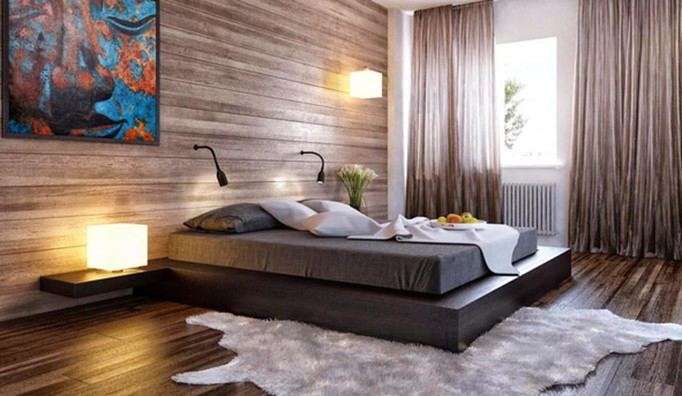 Te decimos cómo combinar el negro y la madera en casa - 8