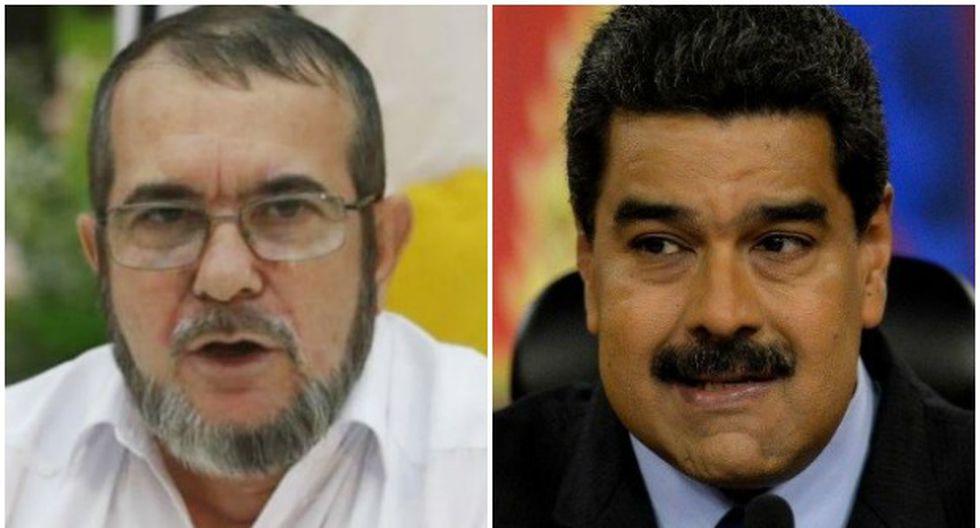 """FARC apoyan a Maduro: """"Respaldamos la revolución bolivariana"""""""