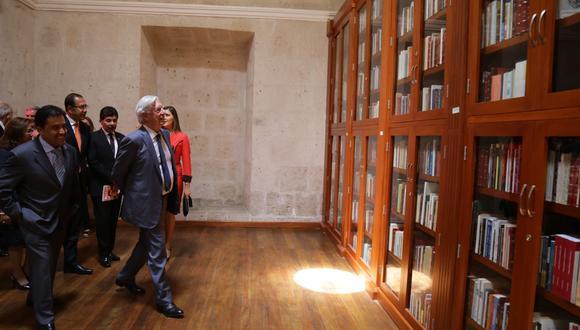 (Foto: Biblioteca Mario Vargas Llosa)
