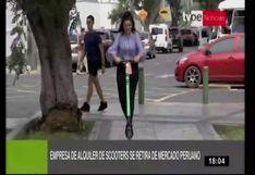 Empresa extranjera de scooters cierra operaciones en Lima y varias ciudades de la región