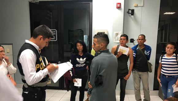 Según el organismo estatal, los inmigrantes se presentaron a los módulos de migraciones sin contar con la documentación completa requerida para ingresar a territorio nacional, como la visa humanitaria (Foto: Migraciones)