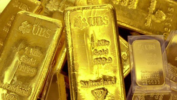 Los futuros del oro en Estados Unidos operaban estables a US$1.551,90 la onza. (Foto: AFP)