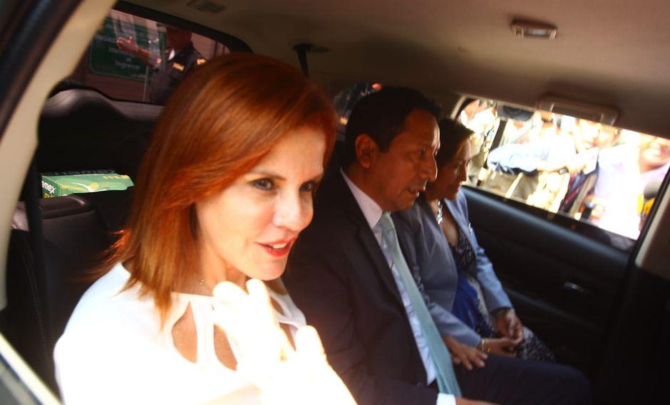 """Mercedes Araoz reiteró que detención preliminar de PPK """"es injusta"""". (Foto: Miguel Bellido Almeyda / GEC / Video: Canal N)"""