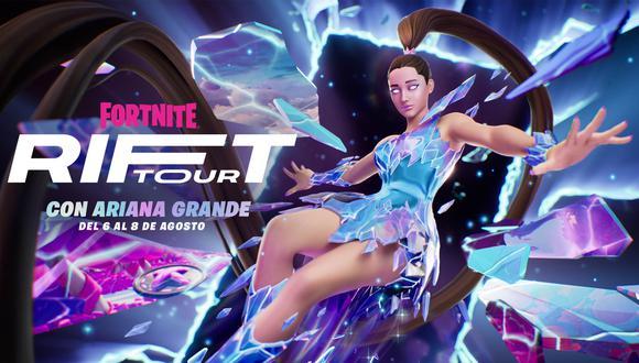 Ariana Grande dará cinco conciertos en Fortnite. (Imagen: Epic Games)