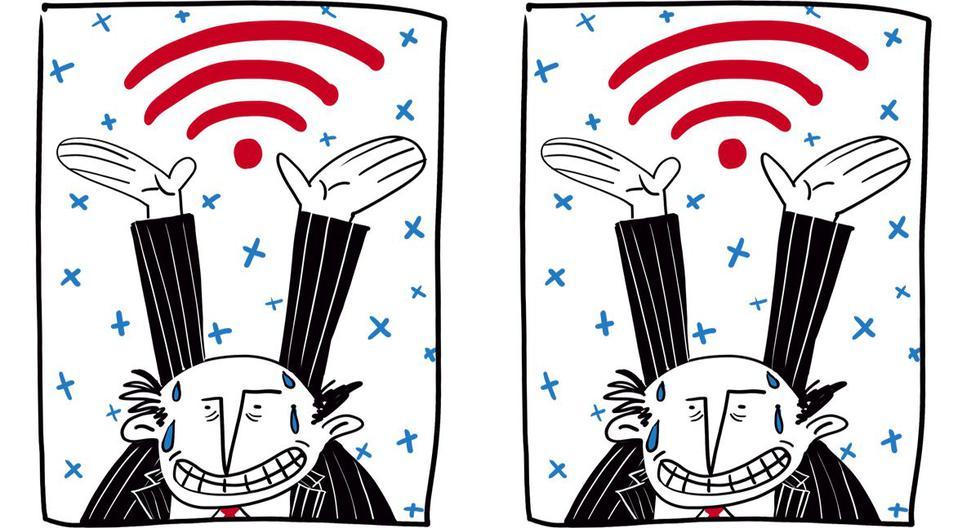 Durante la mesa redonda del lunes, el ofrecimiento más repetido por los candidatos al Congreso fue el de Internet gratis para todos, pero nadie explicó cómo se lograría. (Ilustración: Giovanni Tazza)
