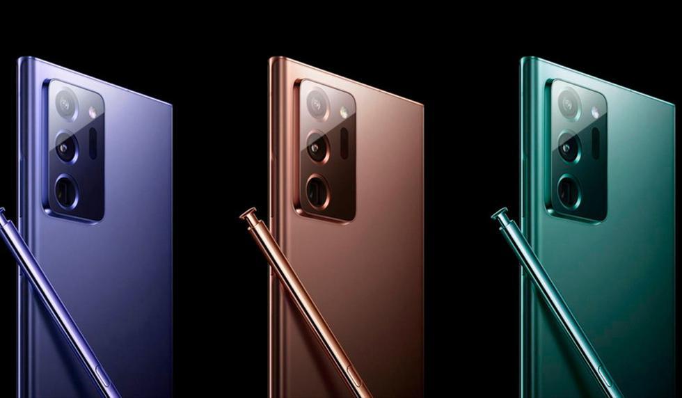 El Samsung Galaxy Note 20 llegará acompañado del Mate V y el Galaxy FOld 2. (Foto: Samsung)