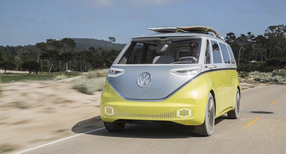 La nueva furgoneta eléctrica de Volkswagen se inspira en el modelo I.D. Buzz presentado hace tres años. (Fotos: Volkswagen).